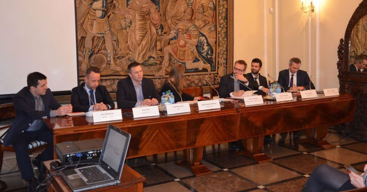 Saule Technologies takes part in debate at Poland's Ministry of Foreign Affairs and the CEED Institute