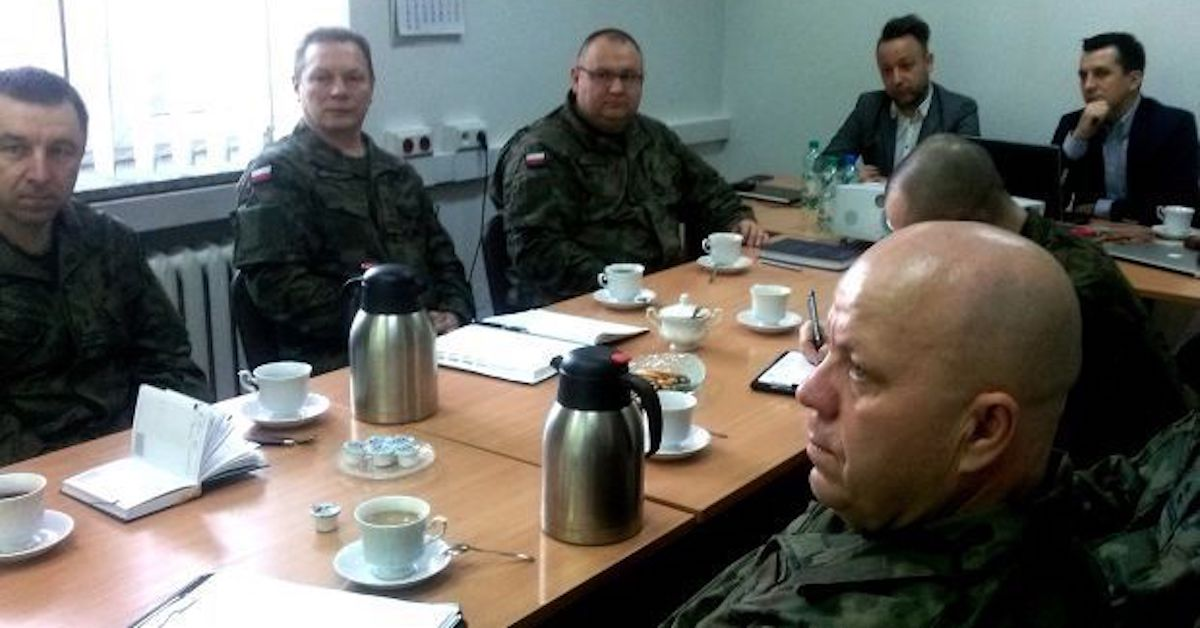 Meeting with Innovative Defense Technologies Department