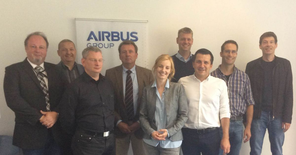 Meeting with the Airbus representatives