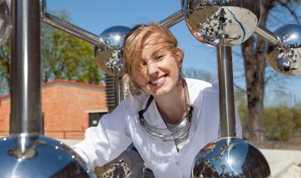 Olga Malinkiewicz smiling