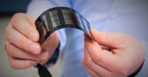 Real-life application of perovskite solar cells - a mobile phone charger