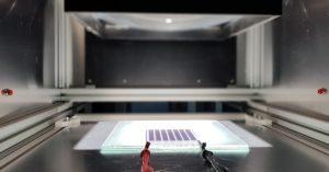 Testing perovskite solar cells glass lamination