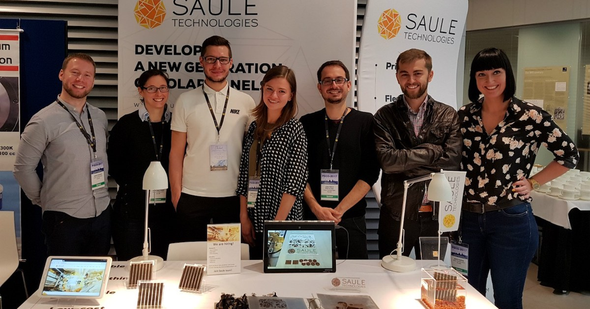 Saule team at PSCO17 in Oxford