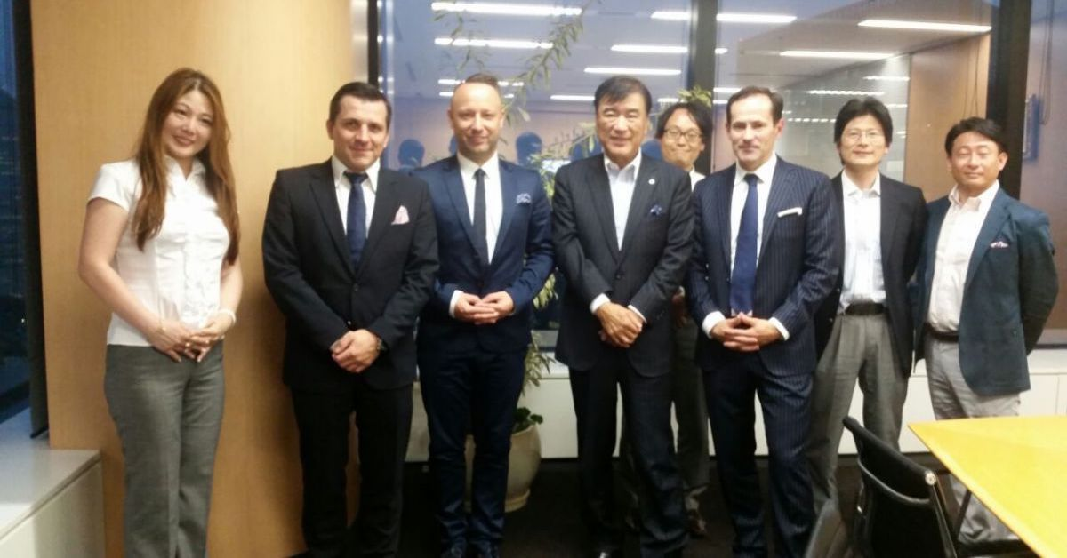 Saule Technologies visits business partners in Japan