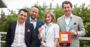 Artur Kupczunas, Piotr Krych and Olga Malinkiewicz in Silicon Valley
