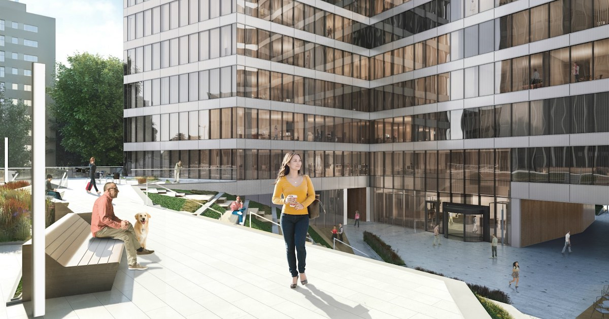 Skanska launches first perovskite solar cell application in office buildings with Saule Technologies