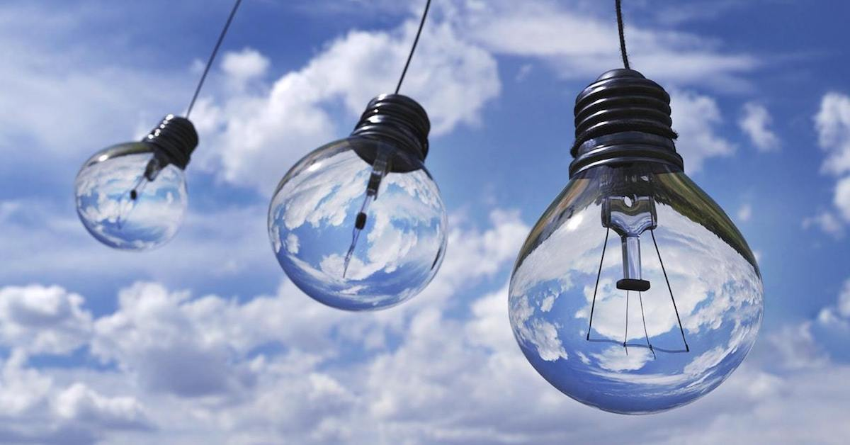 Three lightbulbs