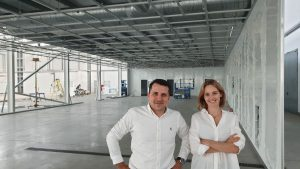 Saule Technologies' perovskite production line progress