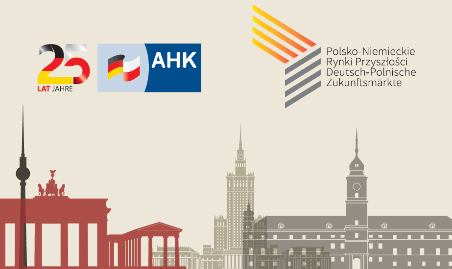 Social media banner with logos of the conference and AHK - organizer