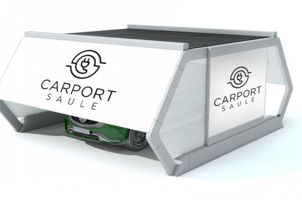 Visualization of a Saule Carport