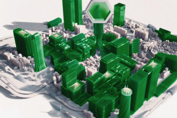 A metaphor of green city